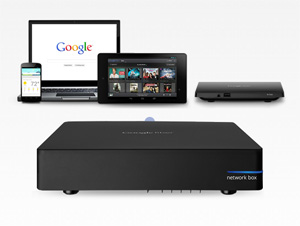 Suite of Google Fiber Equipment
