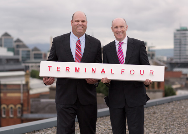 Mike Taylor, Vice President of Worldwide Sales, TERMINALFOUR, and Piero Tintori, director and founder, TERMINALFOUR