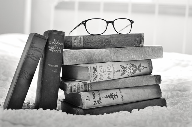 Stack of Books - Photo courtesy of jill111 via Pixabay