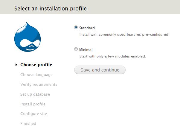 1 - Drupal Install
