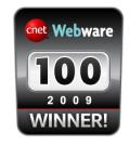 CNET Webware 100 - 2009 Winner