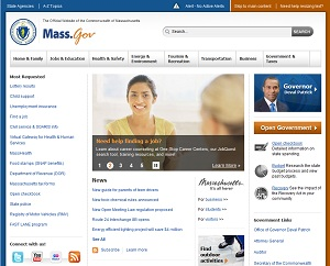 Mass.gov after the redesign