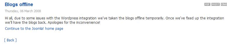 Joomla Blog
