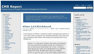 Original 2006 CMS Report theme