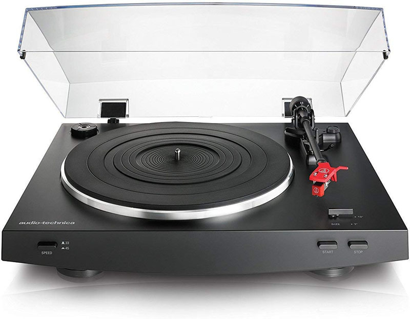 The AT-LP3BK turntable