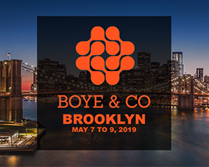 Boye 19 Brooklyn May 7-9, 2019 - The Digital Leadership Conference