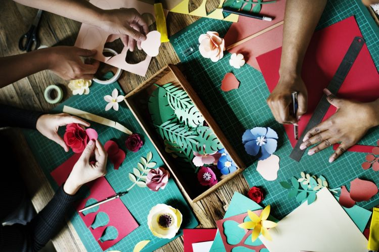 Craft Making - Image provided by Author