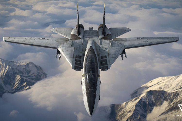 F-14 Fighter - Image provided by Vigilante through Realwire