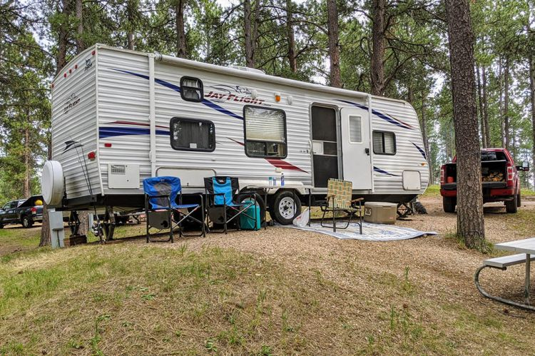 Travel Trailer in the Black Hills - Custer State Park - Jayco 26BH