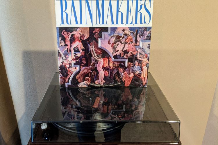 The Rainmakers Album (1986) - Front Cover
