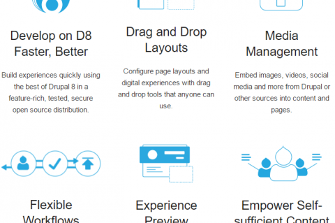 Acquia Lightning for Drupal 8 features Source:Acquia