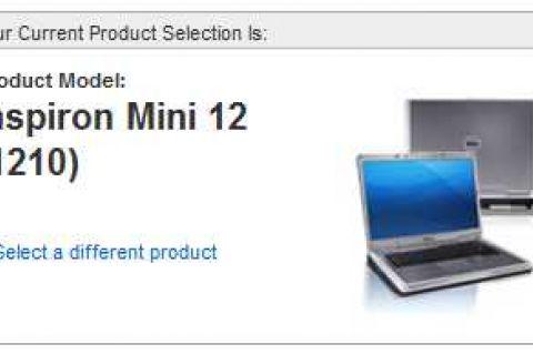 Dell Inspiron Mini 12 (1210)