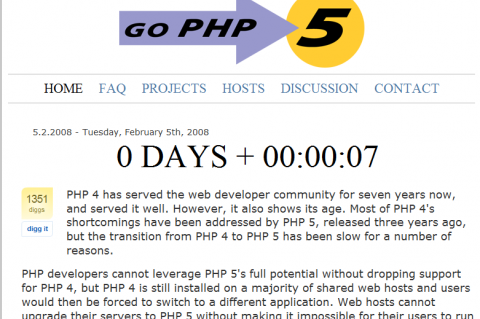 Support GoPHP5.org