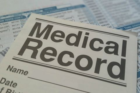 Medical Records via Pixabay - Public Domain - medical-record-health-patient-form-781422