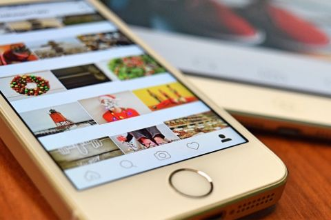 Instagram on smartphone - Photo by Workandapix via Pixabay - CC0 Creative Commons - https://pixabay.com/photo-1474231/