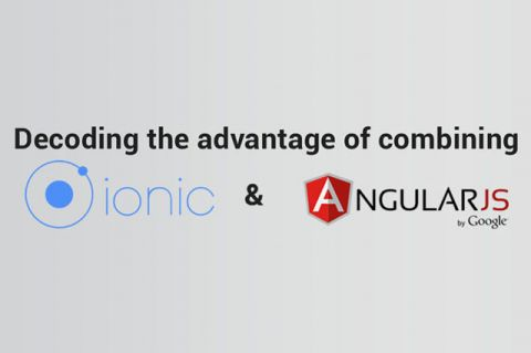Ionic and AngularJS Combo
