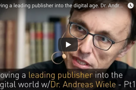 Video interview with Dr. Andreas Wiele, Axel Springer
