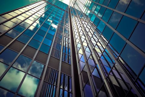 Skyscraper - Image by Michael Gaida via Pixabay - CC0 Creative Commons - https://pixabay.com/photo-2256489/