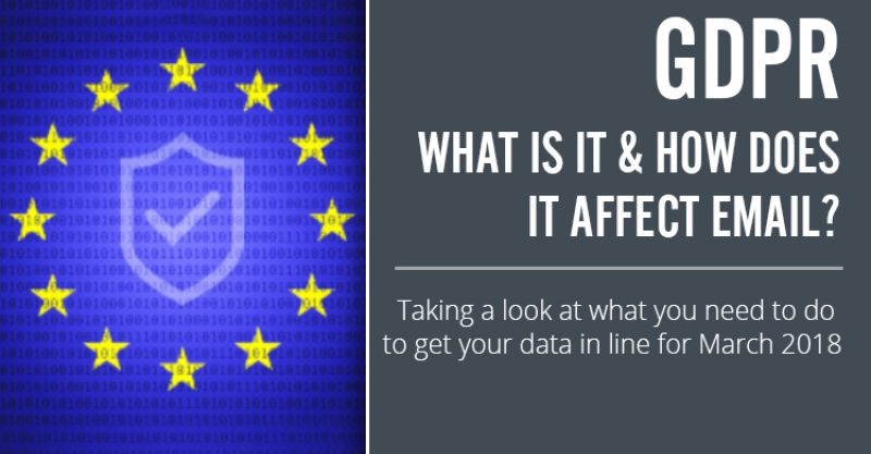 GDPR - What Is It & How Does It Affect Email?